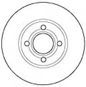 2x-Bremsscheibe-MAPCO-15863-vorne-fuer-AUDI
