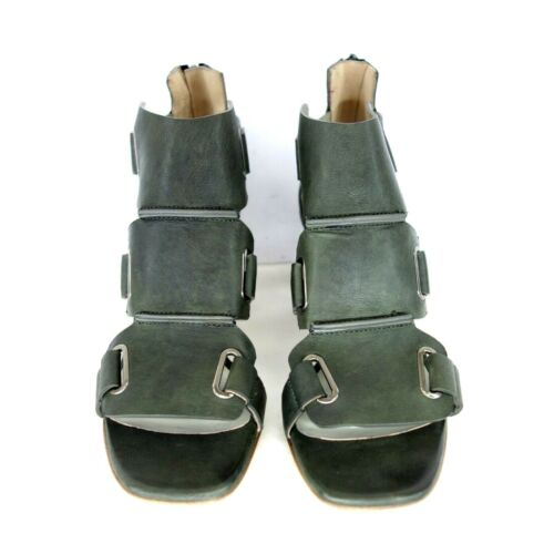 Ixos Ladies Shoes Sandals Sandals Queen Leather Green 38 39,5 40 42 Np 279 New
