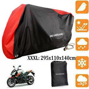 XXXL Universal Motorrad Abdeckung Abdeckplane Motorradgarage Outdoor Schutzhülle