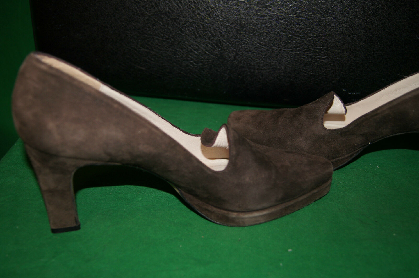 DONALD J J J PLINER schuhe 7 M DONALD PLINER HEELS 7 HAND MADE IN SPAIN 7M DON PLINER 282be6