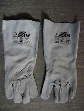 Schweißer Arbeitshandschuhe Rindleder Handschuhe Arbeitsschutz Berufsbekleidung