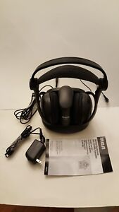 Image Is Loading RCA WHP141B 900MHz Wireless Stereo Headphones