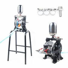 Pneumatic Dual Diaphragm Pump Paint Glue Pump With Filter Suction Cup 13lmin Usa