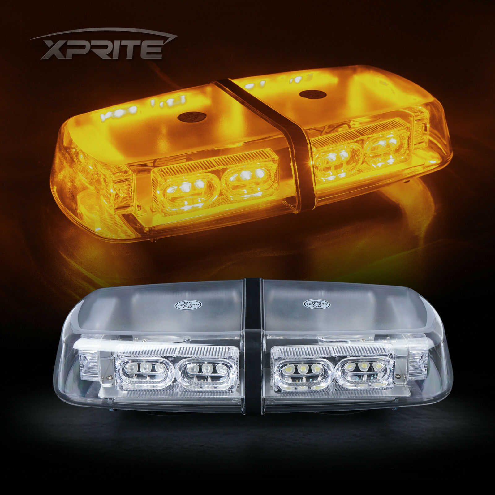 Xprite 18w 36 Led Top Roof Flash Emergency Mini Strobe