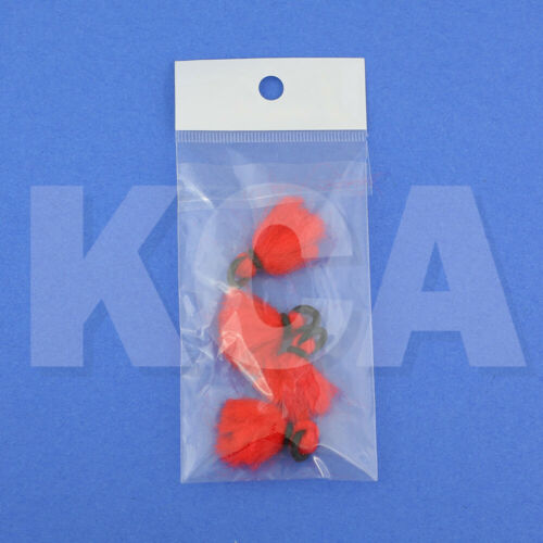 4-pcs Yarn Strike Indicator Small High Visibility for Fly-Fishing Nymphing