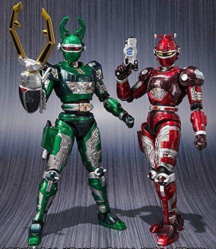 Bandai S H Figuarts jyukou B-Fighter G Stag rojodle conjunto Figura De Acción