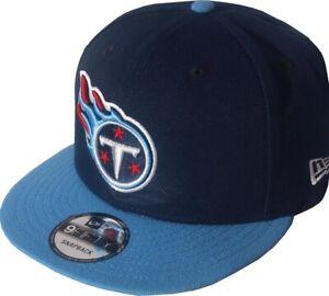 sports shoes 5998c 8ff92 Das Bild wird geladen New-Era-Tennessee-Titans-NFL-2-Tone-Snapback-