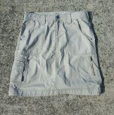 Cabela's Casuals Women's Cargo Skirt 7 Pockets Brown Size 4 EUC Free Ship