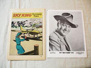 Vintage 1950's Nabisco Sky King Comic Book plus Bonus Picture   NR