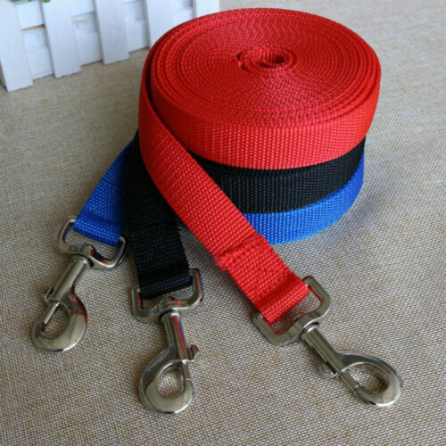 for Pet Dog Cat Lead Leash Training Long Line Recall Walking Running Hunting