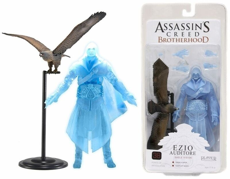Assassin`s Creed Bredherhood Eagle Vision Ezio The hearing officer SDCC 2012