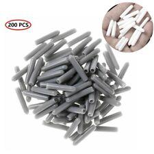 Blulu 200 Pieces Universal Pvc Dishwasher Prong Rack Tip Tine Cover Caps Flexib