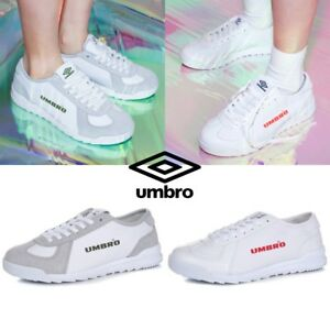 UMBRO-Limited-LEEDS-Athletic-Sneaker-Shoes-Gray-White-Sz-220-280mm
