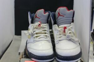 c0764f492be Image is loading Air-Jordan-5-Retro-136027-103-Independence-Day-