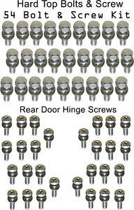 Land-Cruiser-Bolt-Kit-FJ40-BJ40-Hardtop-Rear-Doors-Stainless-Steel