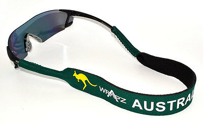 Wrapz DEUTSCHLAND Floating Neoprene Glasses Strap Head Band Germany   STRAP ONLY