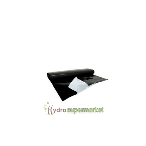GROW ROOM FLOOR BLACK WHITE REFLECTIVE SHEETING 30M ROLL