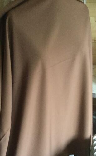 3m Piece Milk Chocolate Colour Polyester Suiting 150cm