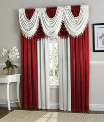 Luxurious Hyatt WINDOW TREATMENT,window curtain Panel or valance SOLD SEPARATE