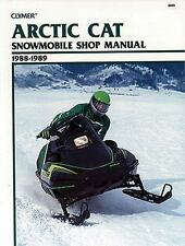 1988-1989 Artic Cat Wildcat 650, El Tigre EXT Snowmobile Repair Manual S835