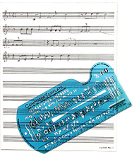 Song Writeru0027s Composing Template For Music Notes U0026 Symbols With Staff Paper