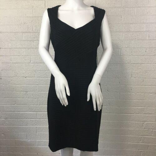 mouwloos bustier Plus Nwt grootte J zwarte jurk schede 16w Eliza 148 Womens Tn87q7z
