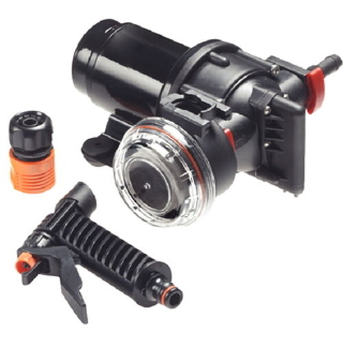 3.5 GPM Wash Down System Pump with 70 PSI Automatic Cut Off for Boats