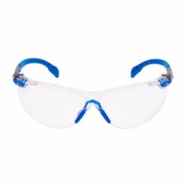 3M SOLUS 1000 Series Safety Spectacles Blue/Black With 3M Scotchgard CLEAR Lens
