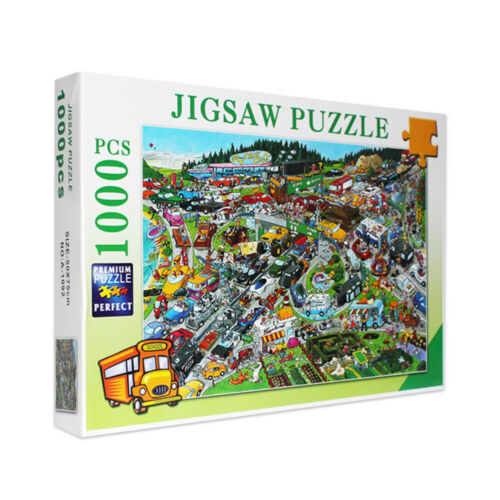 Puzzle Adult Mini 1000 Pieces Jigsaw Decompression Game Toy Gift Home Decro