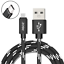 miniature 11 - 2 Pack USB C Cable Fast Charger Type C Data Sync Braided Cord for ZTE Smartphone