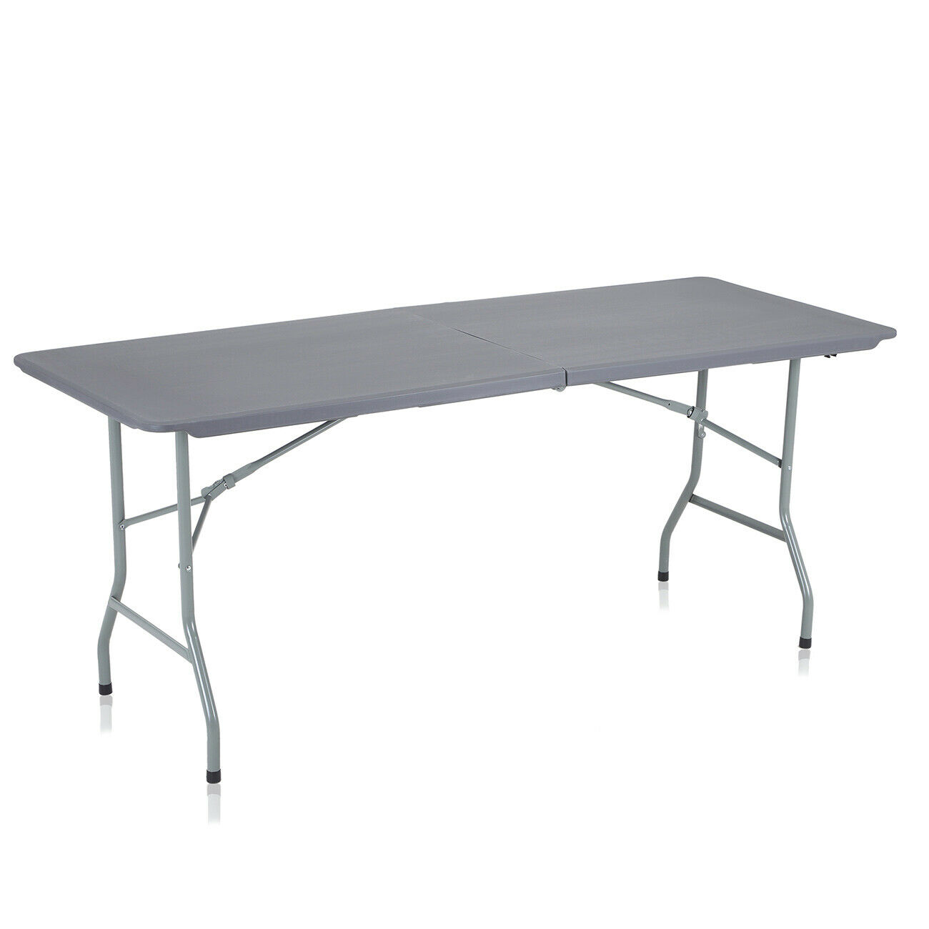 Jardín mesa de Cámping mesa mesa de comedor mesa  de bufé mesa plegable gris oscuro strattore  precio razonable