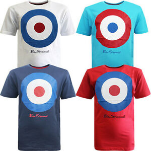 57cbb5942594f2 Ben Sherman Target Print Boys Kids Cotton Tee Crew Neck T-Shirts ...