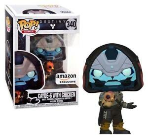 659b4d3197b 2 Units Cayde 6 With Chicken  340 Funko Pop Amazon MINT Destiny for ...
