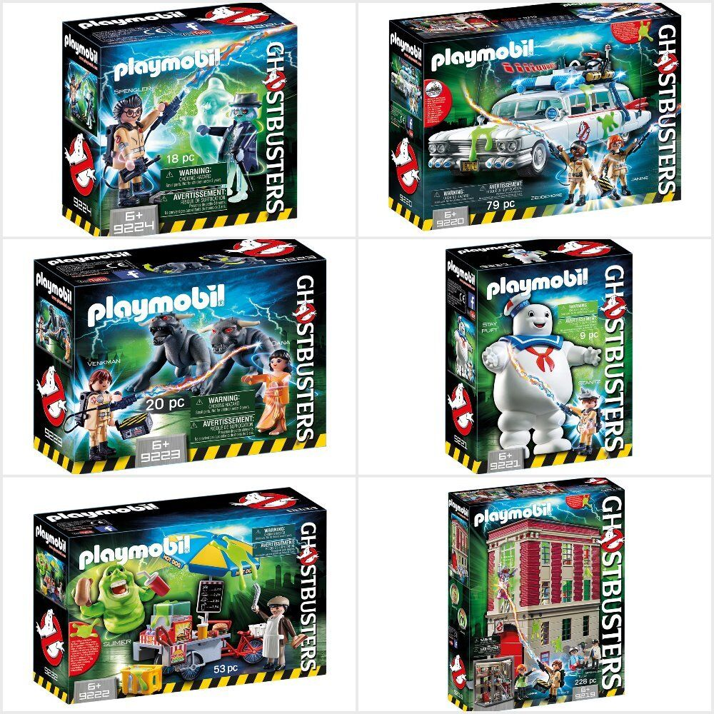 Playmobil série Ghostbusters Real Ghostbusters Assortiment