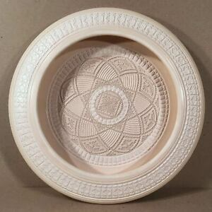 1989-DAVID-GREENBAUM-Profusely-Carved-amp-Decorated-Studio-Pottery-14-034-Low-Bowl