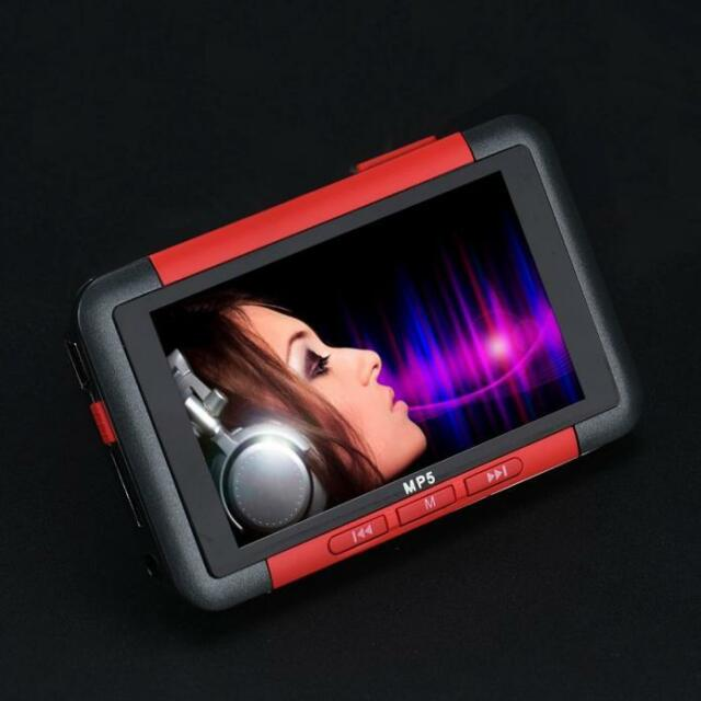 8GB Slim MP3 MP4 MP5 Music Player 4.3 inch LCD Screen FM Radio Video Movie
