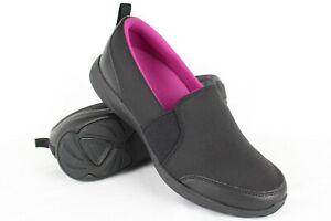 New-Vionic-Women-039-s-Amory-Slip-On-Walking-Sneakers-Black-6-7-8-8-5-9-or-9-5