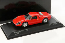Porsche 904 GTS Baujahr 1964 signal rot 1:43 Minichamps
