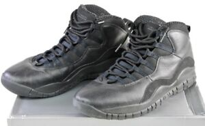 310805-010-Nike-Air-Jordan-10-Retro-Black-White-11-5-11-amp-1-2-in-Original-Box