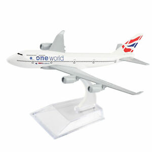 16cm-B747-England-one-world-Airline-Diecast-Models-Aircraft-Aeroplane-Plane
