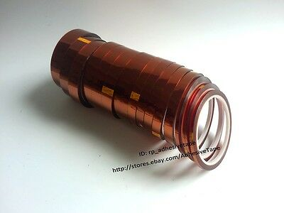 """11mm x 100ft Kapton Tape High Temperature For BGA Polyimide film 0.433/"""" x 33M"""