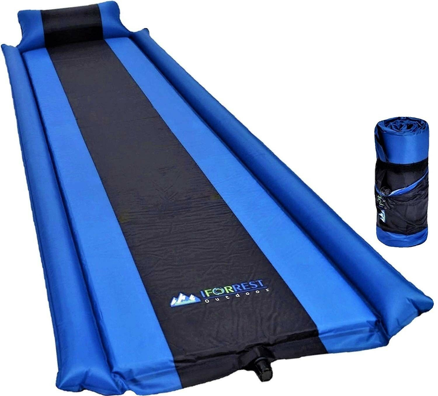 IFORREST Self-Inflating Sleeping Pad with Armrest & Pillow - Super  Comfortable A  various sizes