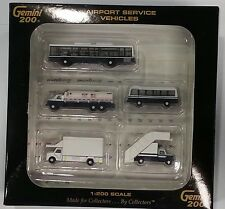Gemini Jets 1/200 Airport Service Vehicles 5 pieces GSE miniature set