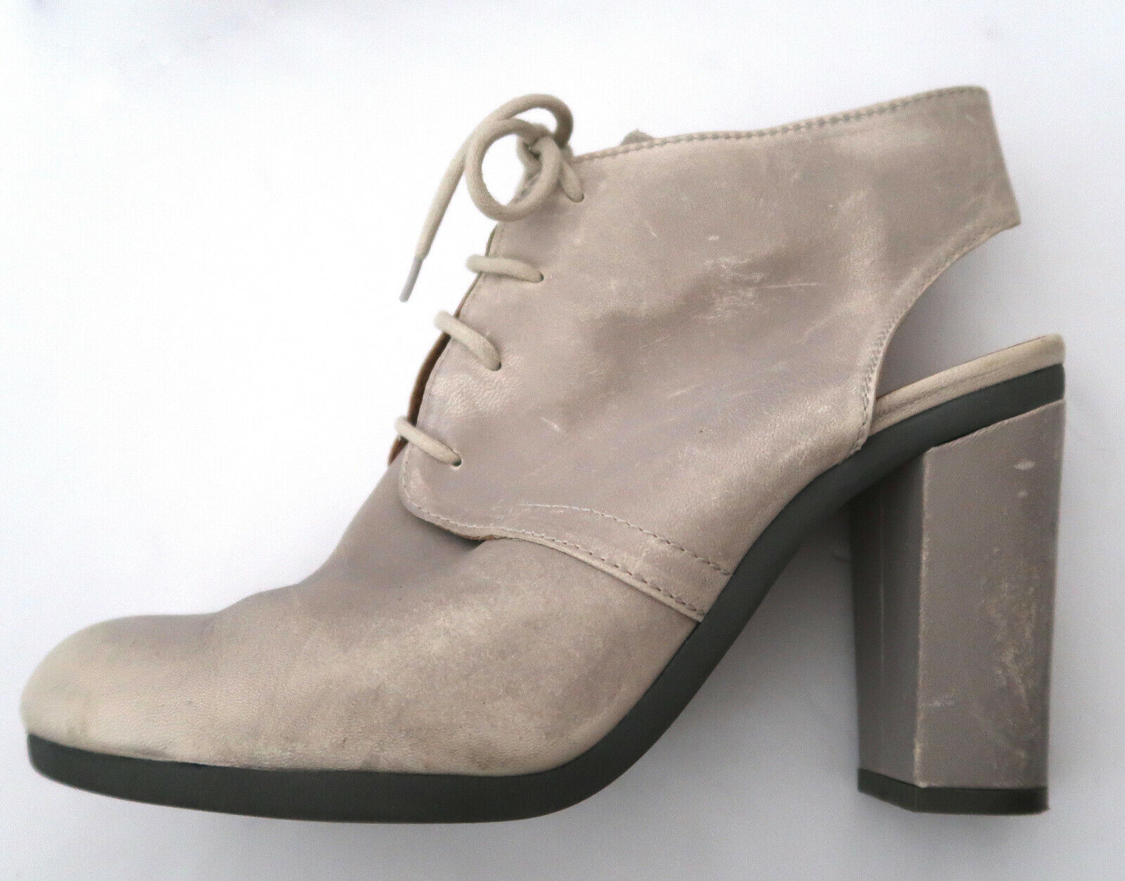 MM6 MARTIN MARGIELA distressed leather bootie sho… - image 4