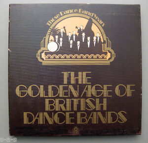 V-A-The-Golden-Age-Of-British-Dance-Bands-1925-1939-7x-Lp-Box-WORLD-RECORDS