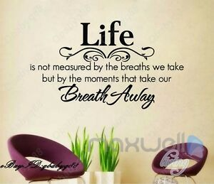 Life Is Wall Quotes Decals Removable Stickers Decor Vinyl Home Art