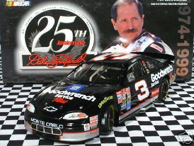 Earnhardt  3 GM 25th Anniversary 1999 Monte Carlo MIB