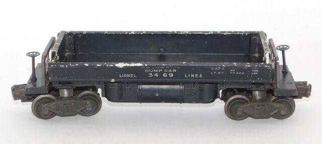 Lionel Lines Operating Dump Car #3469 1949-1955 Metal No Box