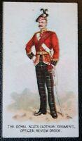 The Royal Scots (Lothian Regiment) 1912  British Army  Original Vintage Card