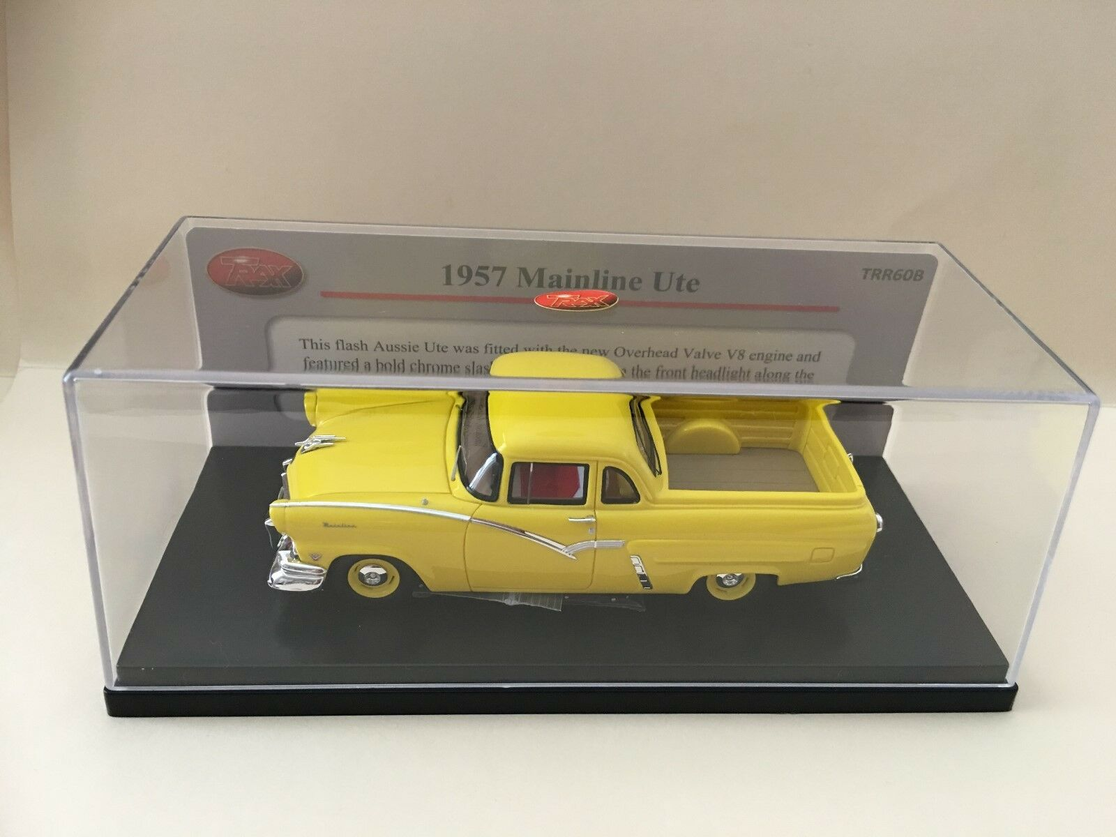 1 43 Trax TRR60B -1957 Mainline Ute -giallo  RESIN